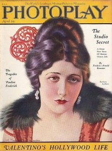 Barbara cover of Photoplay