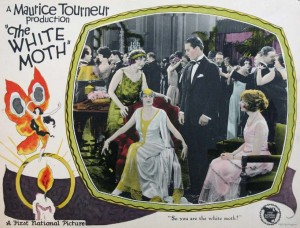 White Moth Lobby Card