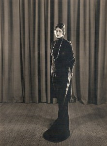 "One of Barbara's cherished ambitions was, as she put it, ""to be a great tragedienne and wield a dagger."" (Photograph by Milton Brown, circa 1921-22.)"