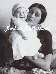 Don as Baby with Barbara